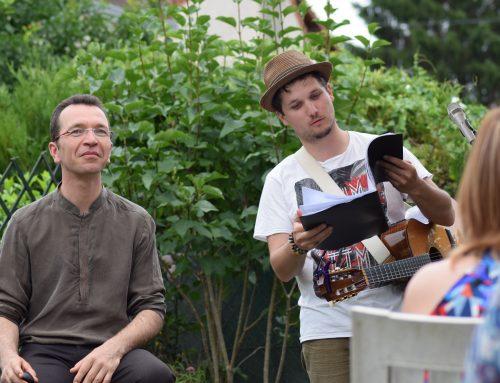 LiveRoom – Concert dans le jardin chez Aline
