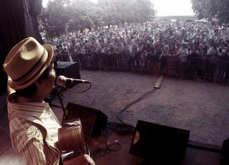 Photo de bAM Hatson depuis la scène
