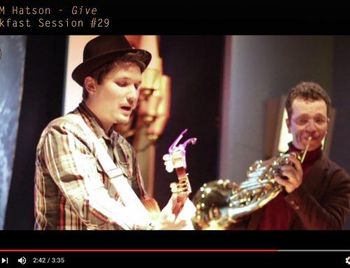 «GIVE» en vidéo au MUPOP – Aller de l'avant et «Donner» de soi